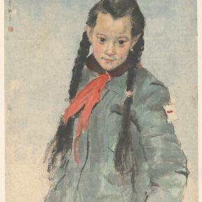 Li Hu, Red Scarf, 1957