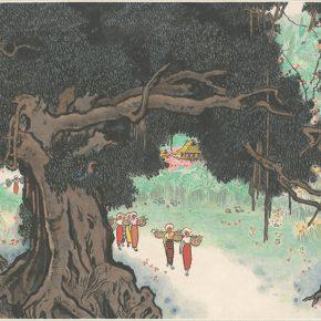 Li Hu, Spring Morning in a Mountain Fastness, 1972