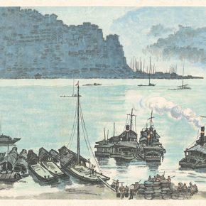 Li Hu, The Landscape of a Mountain City, 1973