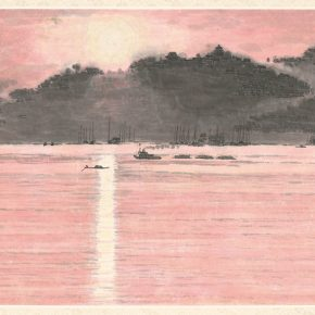 Li Hu, The Setting Sun, 1973