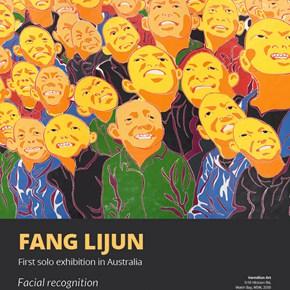 """Vermilion Art presents """"Fang Lijun: Facial Recognition"""" in Australia"""