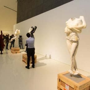 "04 Exhibition View 1 290x290 - Starting from the Body: Marc Quinn's ""Under the Skin"" Exhibition at the CAFA Art Museum"