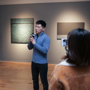"Xu Zaizhou introduced ""Being Invisible to Reality"" to audiences"
