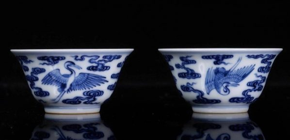 07 Zhen Ru Tang Production Blue and White Porcelain Works 598x290 - Nature in Wonderful Design ( Tian Wu Wen Xin ): Touching the traditions and contemporary expression of the blue and white porcelain culture