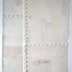 LIN YAN 林延 b.1961 Brooklyn Note #3 布鲁克林的音符之三, 2006 Xuan paper 宣纸 118 x 79 cm