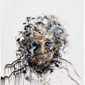 Maggi Hambling_Self-portrait_Oil on canvas_153x122cm_2017