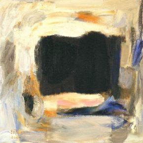 PANG TAO 庞涛 b. 1934 Unstoppable Light 挡不住的光, 2004 Oil on canvas 布面油画 80 x 80 cm