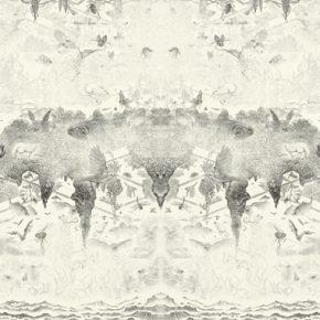 小林敬生 Keisei Kobayashi 白色早晨 群舞•05D At the Dawn Gunbu•05D 图心 87x233.2cm 图纸 115x259cm 木口木刻版画 Wood Engraving 2014 290x290 - Right Place Right Time—Artworks by Keisei Kobayashi & Chen Qi will be presented at Asia Art Center
