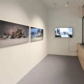 """02 Exhibition View of ONE EXHIBITION 290x290 - One Story in """"ONE EXHIBITION""""—ART WALK: Behind the Scenes was launched in Hui Art Space"""