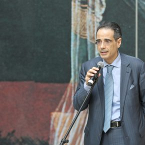 Franco Amadei, the Cultural Counselor of the Italian Embassy in China