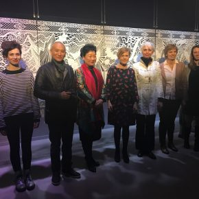 The Group Photo of Artists and Honored Guests