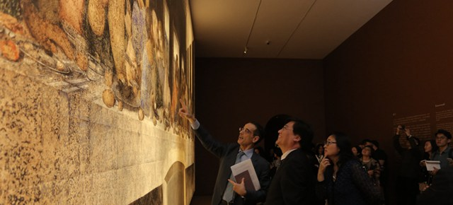 Classics by Leonardo da Vinci arranged in the Central Academy of Fine Arts, Making Impossible Encounters Become Possible
