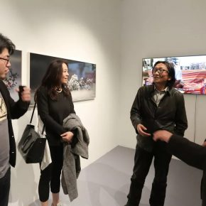 """04 Exhibition View of ONE EXHIBITION 290x290 - One Story in """"ONE EXHIBITION""""—ART WALK: Behind the Scenes was launched in Hui Art Space"""