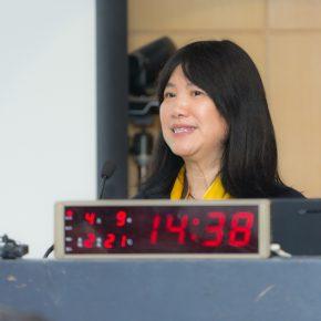 He Wei, wife of Zou Yuejin