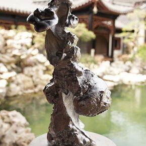 Sui Jianguo, Cloud Garden, Handprint #2, 2017