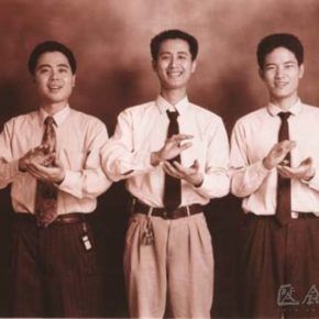 Qiu Zhijie, Fine Series, 1997; Photography, 60x50cm