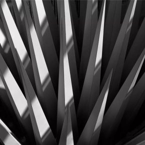 Hélène Binet,John Hejduk, The House of the Suicide and the House of the Mother of the Suicide, Atlanta, United States, 1990,hand printed b/w silver gelatin. Courtesy of the artist.