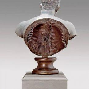 Liu Zhan, Aspirin, 2014; Copper sculpture, 61x32x83cm
