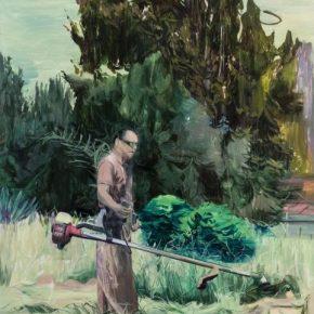 Qi Lei, Harvestman, 2018; Oil on canvas, 200x150cm