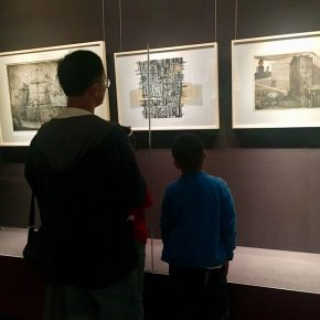 Exhibition View of Belt and Road International Printmaking Exchange Project Achievement Exhibition