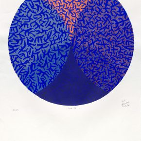 Ahmed Sakr, Form 2, Screen Print, 70x70cm