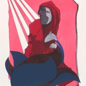 Damian Idzikowski, Hakka Person, Screen Print, 109x79cm