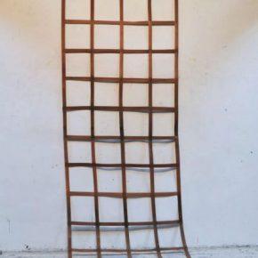 Daniel Dezeuze, Wooden Ladder, 1971; Installation