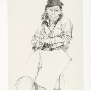 He Jiaying, Traces of Years, Screen Print, 44.5×37.1cm