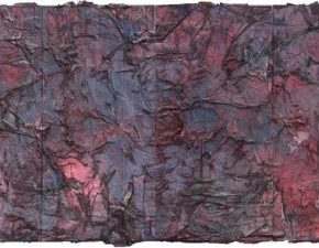 Hu Wei, Scroll No. 21, 2013; Painting, 180x540cm