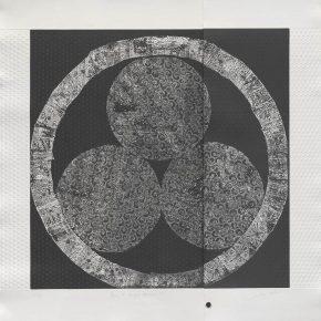 Marine Ky, Peace, a Changing Phenomenon II, Intaglio, 90x90cm