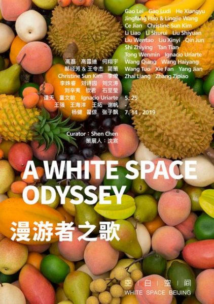 Poster of A White Space Odyssey 422x598 - White Space Beijing announces the group exhibition featuring 24 artists opening on May 25
