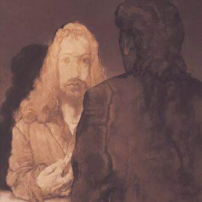Su Xinping, Dialogue No.7 190×160cm; Oil on canvas, 2018