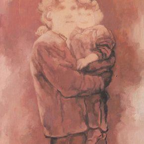 Su Xinping, Far Away No.2, 80×60cm; Oil on canvas, 2018