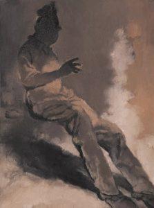 Su Xinping, Preach No.2 80×60cm; Oil on canvas, 2018