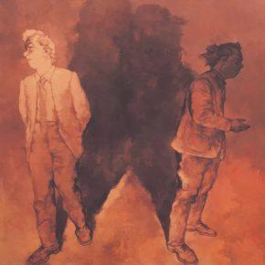 Su Xinping, Preach No.4 250×250cm; Oil on canvas, 2018