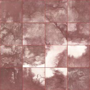Su Xinping, Red No.1 112×168cm(28×28cm×24); Etching, 2017