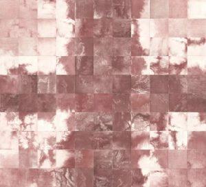 Su Xinping, Ten No.1 280×308cm(28×28cm×110); Etching, 2017