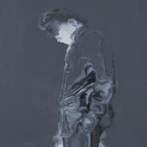 Su Xinping, Thinker No.1, 80×60cm; Oil on canvas, 2010