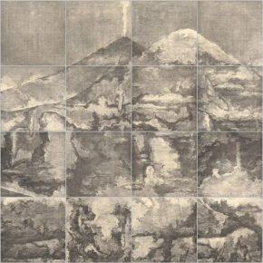 Su Xinping, Wasteland No.3 300×200cm; Etching, 2017