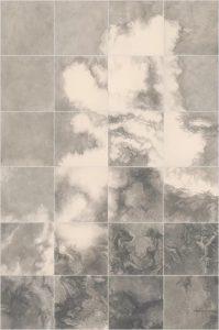 Su Xinping, Wasteland No.6 336×224cm(56×56cm×24); Pencil on Paper, 2019