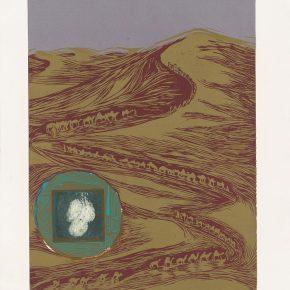Vasiliki Kolipetsa, The Silk Road, Relief, 71x50cm
