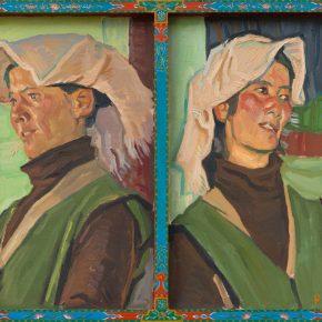 YOU Yong, Tibetan Women 65 x 53cm 2015 Oil on canvas