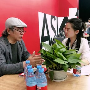 01 Professor of Song Xiewei was interviewed by CAFA ART INFO 290x290 - Song Xiewei: Activating Ideas, Breaking through Barriers while Jointly Exploring Humanity, Technology and the Future