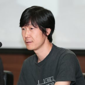 Dong Bingfeng, the researcher of Intermedia Art Research Center in China Academy of Art