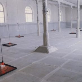 Wang Gongxin's exhibition of BIAO (1995), at the art space of No. 10 Ludwigsburg in Stuttgart, Germany