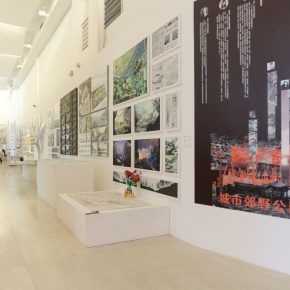 Exhibition View of Undergraduates Graduation Exhibition