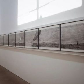 Exhibition View of Tip of an Autumn Down