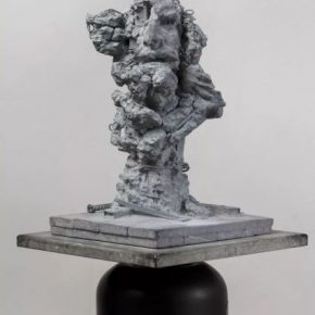 Song Hongquan Re sculpting – Head of the Old Warrior 2018 Celestine 60x38x38cm 290x290 - Song Hongquan: Underground will be presented by Chambers Fine Art in Beijing