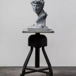 Song Hongquan Re sculpting David Giuliano de Medici 2019 Celestine 56x34x34cm 290x290 - Song Hongquan: Underground will be presented by Chambers Fine Art in Beijing