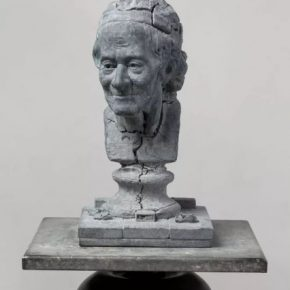 Song Hongquan Re sculpting Voltaire 2018 Celestine 56x29x28cm 290x290 - Song Hongquan: Underground will be presented by Chambers Fine Art in Beijing